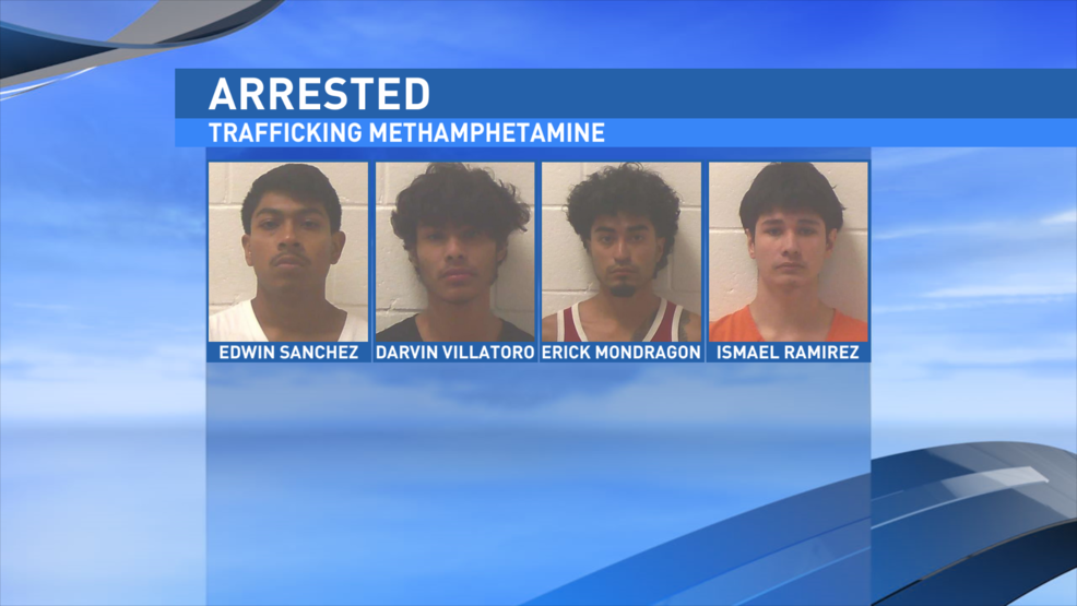 Jones Co  deputies arrest men with meth, rifle on 4th of