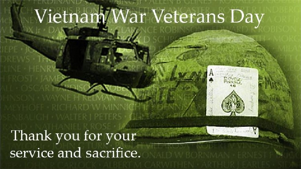 First ever National Vietnam War Veterans Day celebrated 44 years ...