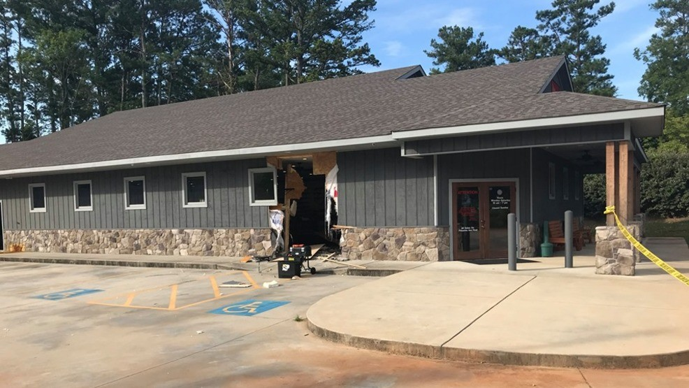 Vehicle Rammed Into Troup County Armory Unknown Number Of