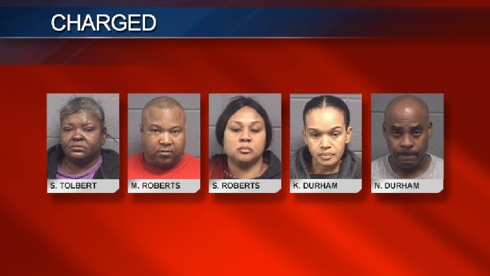 Five arrested and charged following Houston County drug bust