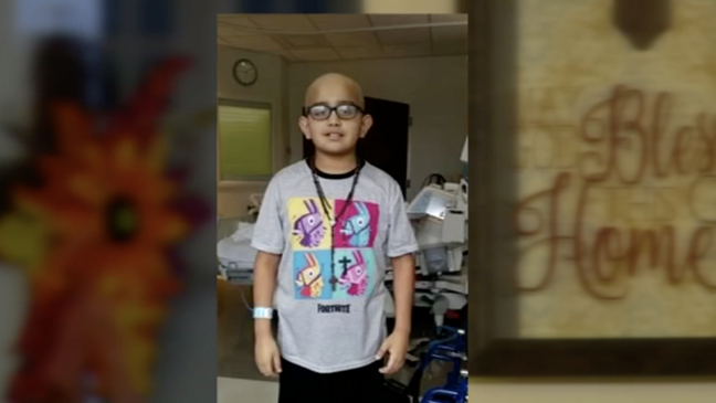 10-year-old fighting cancer hopes to get new prosthetic for