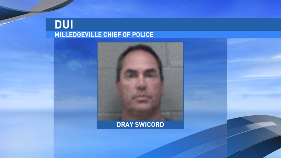 Milledgeville police chief arrested for DUI to get