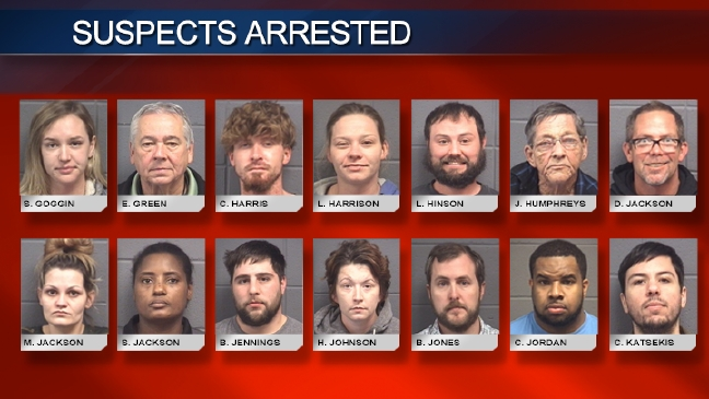 53 arrests made in Houston County drug bust | WGXA